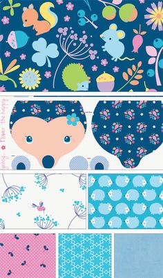 Wildflower Meadow by Melly and Me for Riley Blake Designs