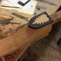 Inlay on heel