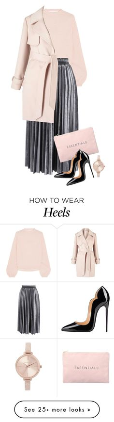 """Essentials"" by cherieaustin on Polyvore featuring Victor Glemaud, Chicwish, Michael Kors and Miss Selfridge"