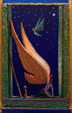 Buy READY TO FLY - ( framed ), Acrylic painting by Carlo Salomoni on Artfinder. Discover thousands of other original paintings, prints, sculptures and photography from independent artists.