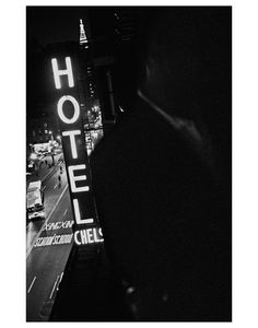 """Intimate Black and White Photos of Life Inside the Chelsea Hotel""  via Flavorwire"