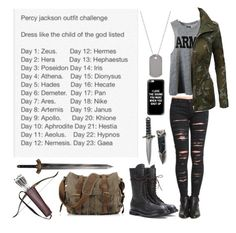 """Percy Jackson Outfit Challenge - Day 7 - Child of Ares"" by insane-alice-madness ❤ liked on Polyvore featuring Rick Owens, BLANKNYC, NLST, LE3NO, Casetify and Tiffany & Co."