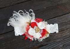 """This headband is to die for and inspired by the """"isn't she lovely"""" headband from our fall shoot. This headband can be worn for just about any"""