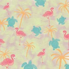 Ania Archer | Make It In Design | Surface  pattern design | Tropical Paradise