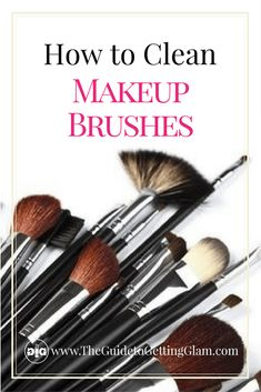 What is the best way to care for your makeup brushes? Here are makeup artist tips on how to clean makeup brushes the right way.