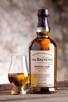 Balvenie 17 year old Madeira cask Scotch Whisky Cigars And Whiskey, Whiskey Drinks, Bourbon Whiskey, Whiskey Girl, Liquor Drinks, Scotch Whisky, Fun Drinks, Alcoholic Drinks, Craft Cocktails