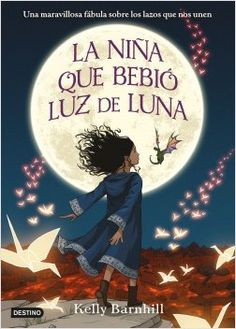 """Read """"The Girl Who Drank the Moon (Winner of the 2017 Newbery Medal)"""" by Kelly Barnhill available from Rakuten Kobo. **Winner of the 2017 Newbery Award The New York Times Bestseller An Entertainment Weekly Best Middle Grade Book of 2016 . Newbery Award, Newbery Medal, Good Books, Books To Read, My Books, Cover Design, Jhon Green, Kubo And The Two Strings, Bon Film"""