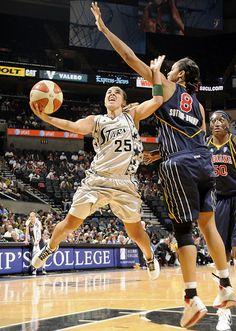 Becky Hammon.... San Antonio Silver Stars