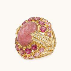 #pinktourmaline #love @irenelummertzjewerly.
