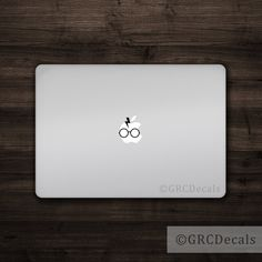 Harry Potter Mac Apple Logo Cover Laptop Vinyl Decal by GRCDecals $3