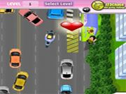 Beat The Traffic    Help the boy to reach his girlfriend at the bus stop in the busy traffic. Reach quickly by avoiding the obstacles and also collect the bouquets on the way to earn more points. Pick your girlfriend and move on to next levels. Use arrow keys to play. Press space bar to stop your vehicle.  http://ezarcade.net/games/beat-the-traffic/