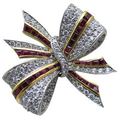 Tiffany & Co  Brooch | From a unique collection of vintage brooches at http://www.1stdibs.com/jewelry/brooches/brooches/