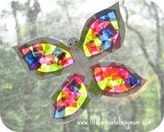 Spring Butterfly Sun Catcher