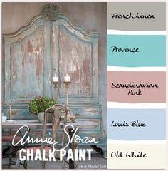 stylish patina, chalk paint, annie sloan, buy chalk paint online www.stylishpatinashop.com COLORWAYS A warm grey Gustavian palette