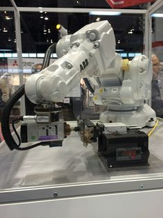 #ABBRobotics at #Automate2015. Come visit us at booth 571.