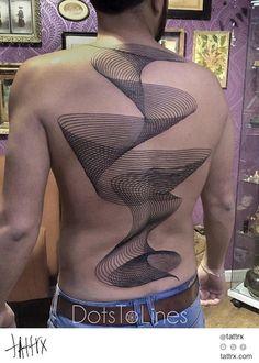 Chaim Machlev (Dotstolines) - Full Back Spiral