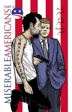 Cover art for Miserable Americans book 2.