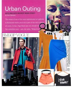 """""""urban chic"""" by sehrish-s ❤ liked on Polyvore"""