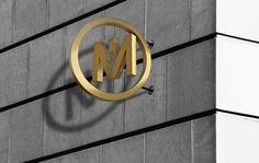 Macau news on behance cona's 指 標 系 統 exterior signage, wayfinding sign Signage Design, Branding Design, Wayfinding Signs, Retail Signage, Outdoor Signage, Exterior Signage, Logo Sign, Environmental Graphics, Shop Window Displays