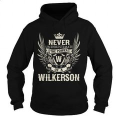 WILKERSON W - #tee test #kids hoodies. SIMILAR ITEMS => https://www.sunfrog.com/LifeStyle/WILKERSON-W-Black-Hoodie.html?60505