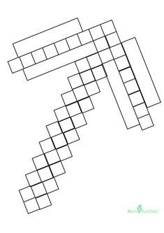 Minecraft Sword Coloring Page Minecraft Coloring Pages