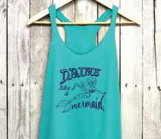 And a tank to wear after you start popping those caps. | 20 Gifts Every Wannabe Mermaid Needs To Ask For This Year