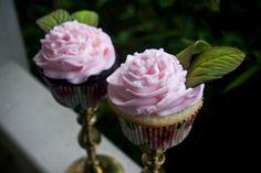 Rose inspired cupcakes