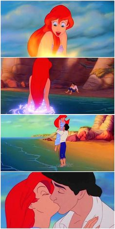 "DISNEY PRINCESS CHALLENGE #29: Most Memorable Moment - King Triton gives Ariel her legs & she gets together with Prince Eric... I have always and always will love this scene with all of my heart. ""...how much I'm going to miss her."" - King Triton <3 Haha this video is in Icelandic...but it's the best I could find for this part!"
