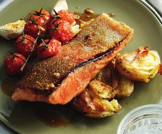 honey glazed ocean trout