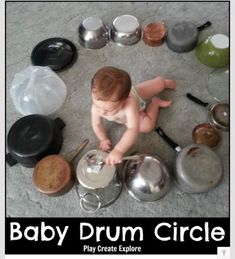 A Baby Drum Circle! from @wonderstaples