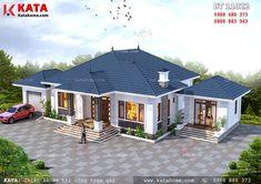 House Plans Mansion, Bungalow House Plans, Bungalow House Design, Dream House Plans, Modern House Facades, Modern Architecture House, Modern Bungalow Exterior, Village House Design, Kerala House Design