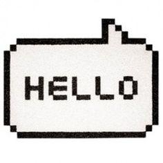 Hello White Doormat.