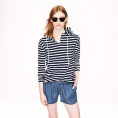 J.Crew - Lightweight washed chambray short...thinking of investing in 2 pairs of shorts for the summer.  Could this be one of them?