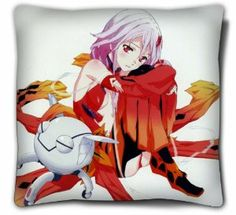 Japanese Anime Double-Sided Guilty Crown Pillow/cushion,YUZURIHA INORI pillow, #02 by Victoria's Deco. $24.99. Size: 15.7 inches x 15.7 inches. Inner Material:made of memory fabric,with high quality. The pictures are on the two sides of the pillow. please make sure you buy it from Victoria's Deco. The pillow will be shipped out by Register Mail, Email us if you need Express Shipping.. Material: polyester peach skin (FACE). This is a very creative gift for Guilty Crown fans.