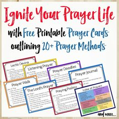 Not sure what to pray? The ACTS prayer method is an easy-to-remember outline for your prayers. Free printable prayer cards for ACTS prayer and more! Prayer List, Prayer Book, God Prayer, Prayer Cards, Power Of Prayer, Daily Prayer, Strength Prayer, Healing Prayer, Prayer Wall