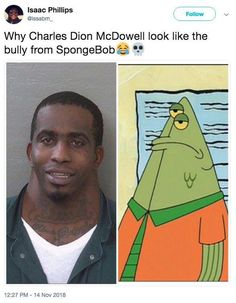 """The best word games """"Charles McDowell & # s Large Neck Mugshot"""" - Humour Funny Puns, Funny Tweets, Funny Humour, Hilarious Memes, Funny Stuff, Shots Meme, Funny Images, Funny Pictures"""