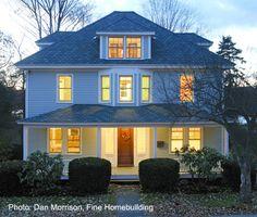 four square house renovation - Google Search