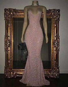 Pink sequin mermaid long prom dress, sequin evening dress,BD172702 Evening Dress Long, Mermaid Evening Gown, Sequin Evening Dresses, Evening Party, Pink Evening Gowns, Evening Outfits, Cute Prom Dresses, Prom Outfits, Mermaid Prom Dresses