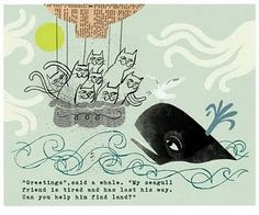 ships, whales and cats - some of my favorite things