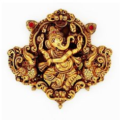 Antique ganeaha with rubies