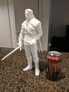 Geralt of Rivia by jeremy.r5 #toysandgames