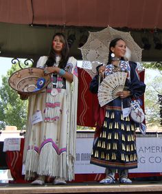 Image from the Native American Clothing Contest held in Santa Fe during Indian Market 2012.