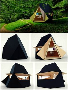 Designed by award winning architecture practice Innovation Imperative, tetra shed® is a new modular building system which, as a single module, has been designed to be a modern garden office. Certainly a very different take on a home workspace. See for yourself by viewing the full album here: http://theownerbuildernetwork.co/62j0 Looking for a new home office? Maybe a Tetra-Shed is in your future.