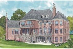 Luxury Plan: 10,467 Square Feet, 6 Bedrooms, 6.5 Bathrooms - 3323-00530