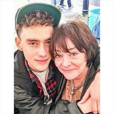 OLLY and his mom