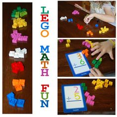 """Legos are great for developing spatial reasoning skills, great for building grand castles, boats, even Rapunzel's hair (yes, my daughter has demonstrated multiple times, you can make """"hair"""" out of legos). Legos are also great items to use for developing addition and subtraction skills. Here are some of the ways we used our legos this...Read More »"""