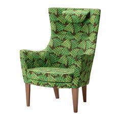 IKEA - STOCKHOLM, Fauteuil haut, Mosta vert, , Chaise en mousse haute résilience offrant à la fois confort et soutien - et qui conserve sa forme pendant de nombreuses années.</t><t>L'appuie-tête est réglable en hauteur pour offrir le confort et le soutien qui vous conviennent.</t><t>Pour que votre fauteuil garde toute sa fraîcheur et son aspect neuf, il vous suffit de laver les protections d'accoudoirs qui sont amovibles.</t><t>Fauteuil à dossier haut et assise large, idéal pour…