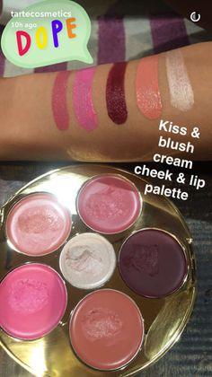 Kiss & Blush Cream Cheek & Lip Palette by Tarte #12