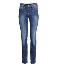 jeans med lige ben