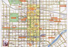 nice Map of Sapporo Tourist